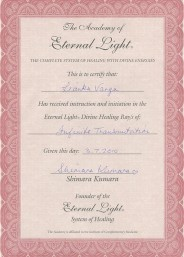 Eternal Light Certificate :: Infinite Transmutation