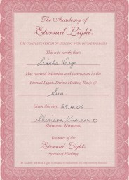 Eternal Light Certificate :: Sun