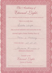 Eternal Light Certificate :: Moon Mercury